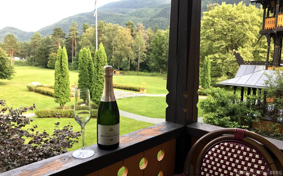 Dalen Hotel Telemark champagne