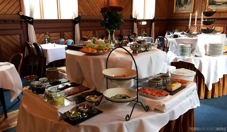 Dalen Hotel Telemark frokostbuffet