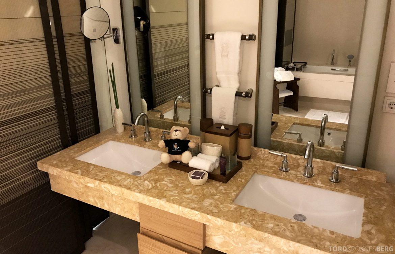 Ritz-Carlton Bali reisefølget bad