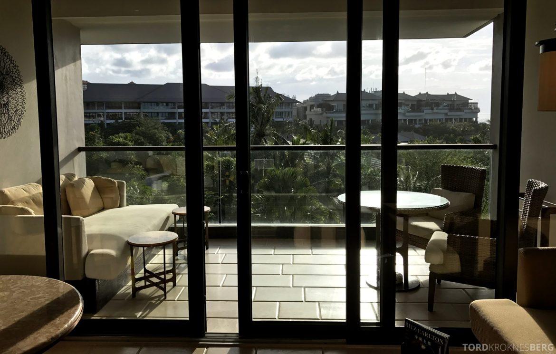 Ritz-Carlton Bali balkong