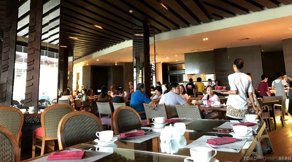 Ritz-Carlton Bali frokostsal