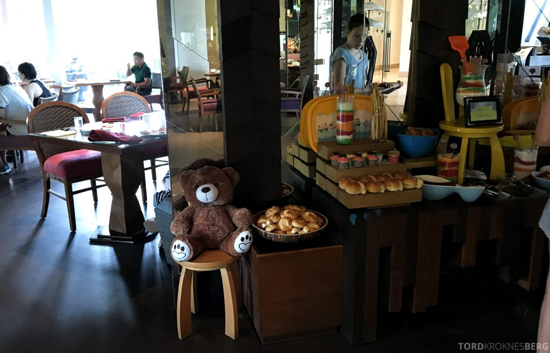 Ritz-Carlton Bali frokost barn