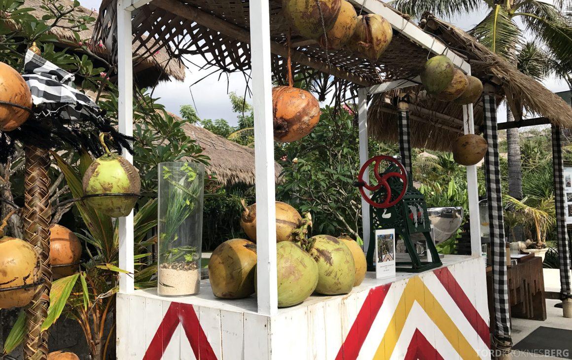 Ritz-Carlton Bali eksotisk drink