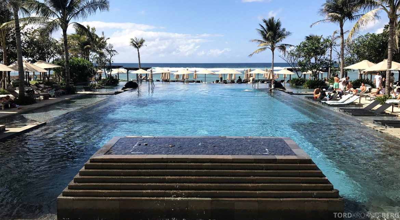 Ritz-Carlton Bali evighetsbasseng