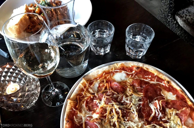 Restaurant Olivia Solsiden Trondheim pizza og pasta