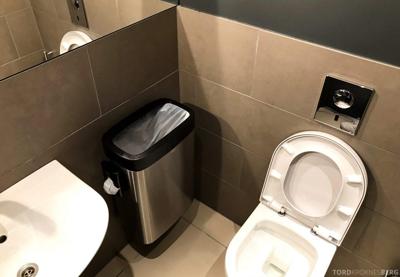 SAS Lounge Oslo Innland toalett