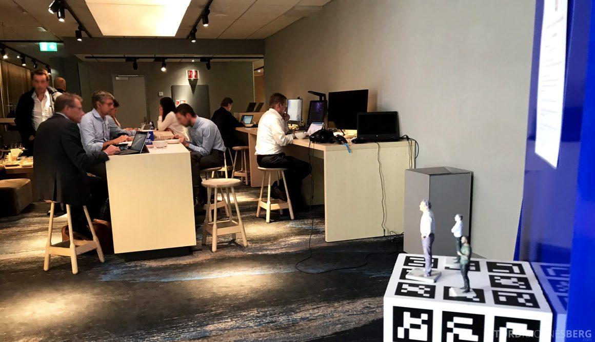 SAS Lounge Oslo Innland teknologirom