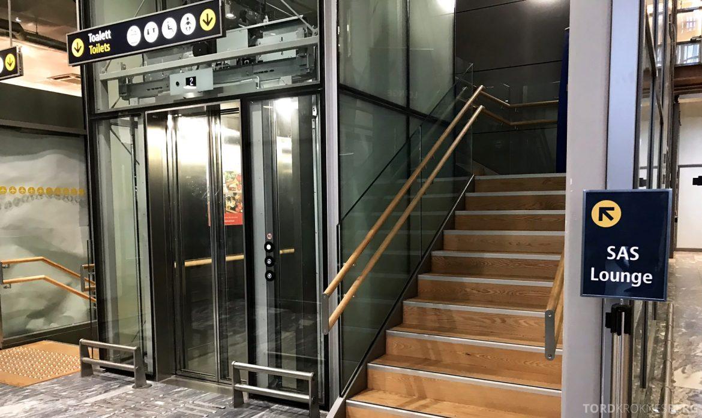 SAS Lounge Oslo Innland inngang