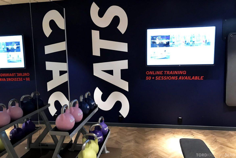 SAS Lounge Oslo Innland treningssenter SATS