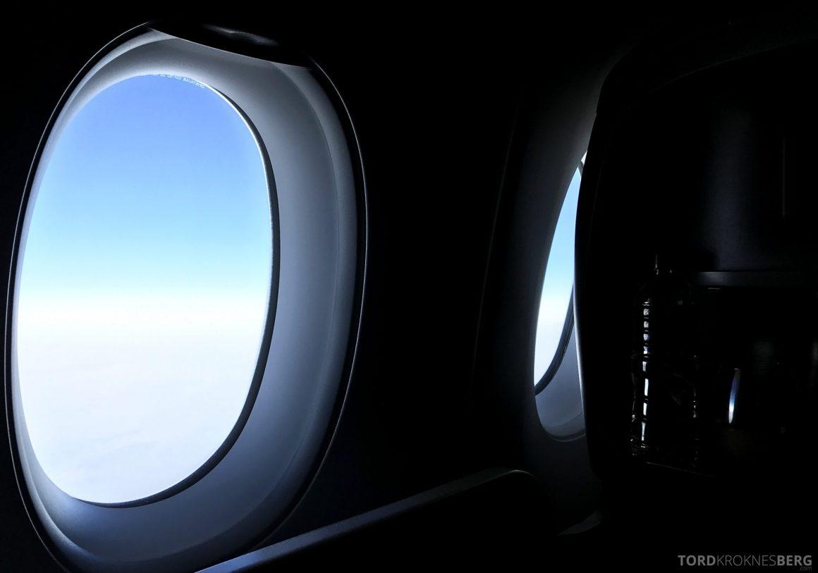 Singapore Airlines Business Class Moskva Stockholm utsikt