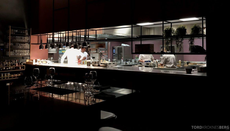Grand Café Oslo åpent kjøkken