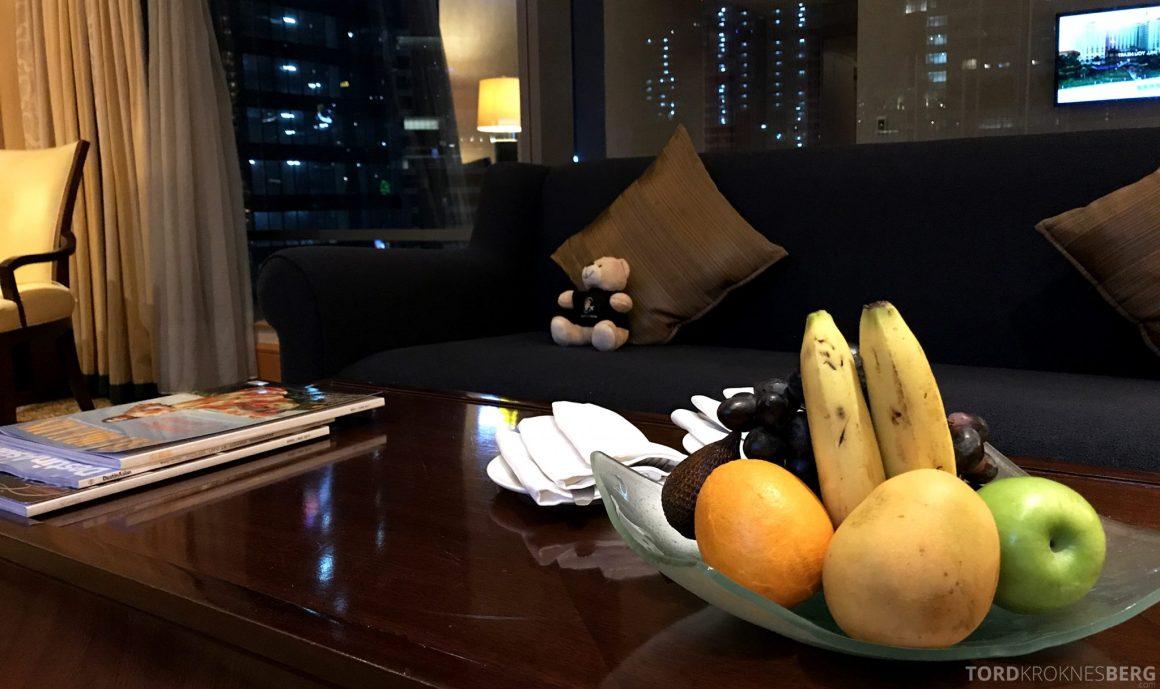Ritz-Carlton Jakarta reisefølget stue