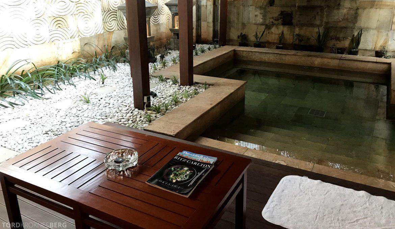 Ritz-Carlton Jakarta spa terrace pool