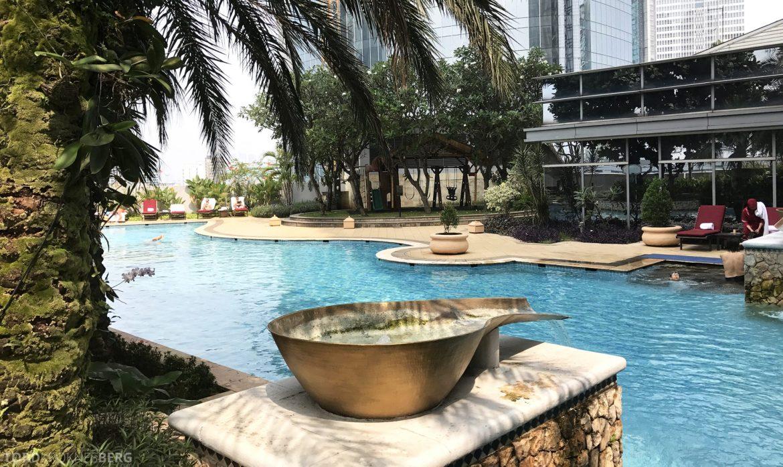 Ritz-Carlton Jakarta basseng by
