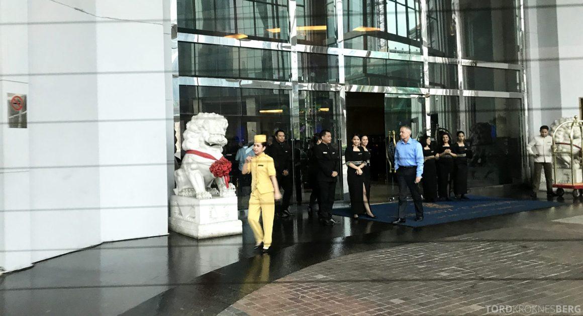 Ritz-Carlton Jakarta adjø