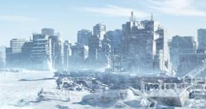 Snowpiercer (2013) stars Chris Evans, Tilda Swinton, John Hurt. Dir: Bong Joon-Ho.