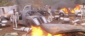 I nuovi barbari (1983) stars Fred Williamson. Dir: Enzo G. Castellari