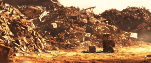 Wall-E (2008) stars Jeff Garlin, Sigourney Weaver, Fred Willard. Dir: Andrew Stanton.