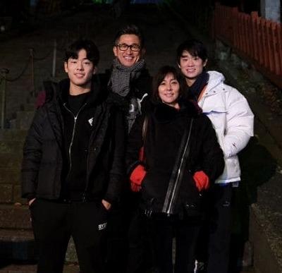 三浦知良家族