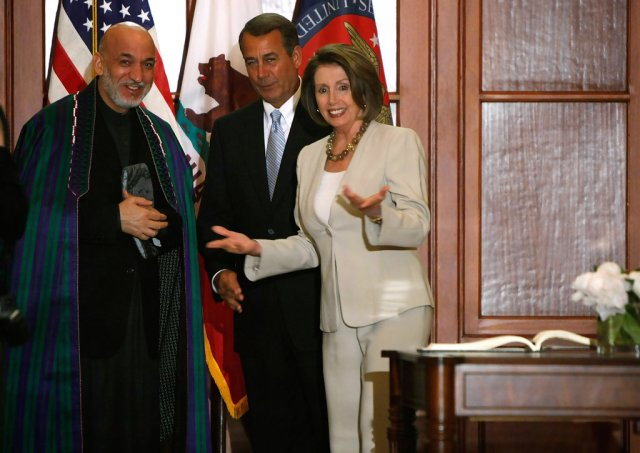 Afghanistan: Pelosi Impairs U.S. Foreign Policy In a Clear Act Of Mutiny