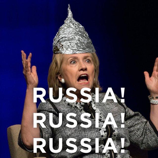 DEMOCRAT PLAN: Russia Hoax Isn't Over Yet, It Was Her Turn