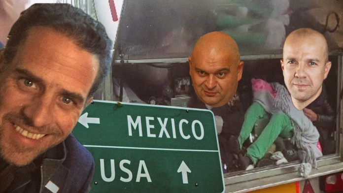 BOMBSHELL | Hunter Biden Smuggled Foreign Criminals Over The Border To Meet Joe Biden And Possibly Obama