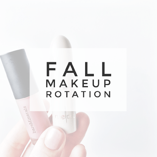 FALL MAKEUP ROTATION