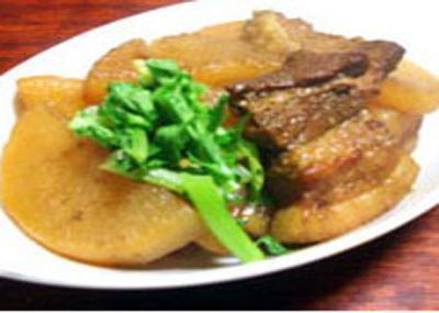 豚ばら肉と大根のカレー煮