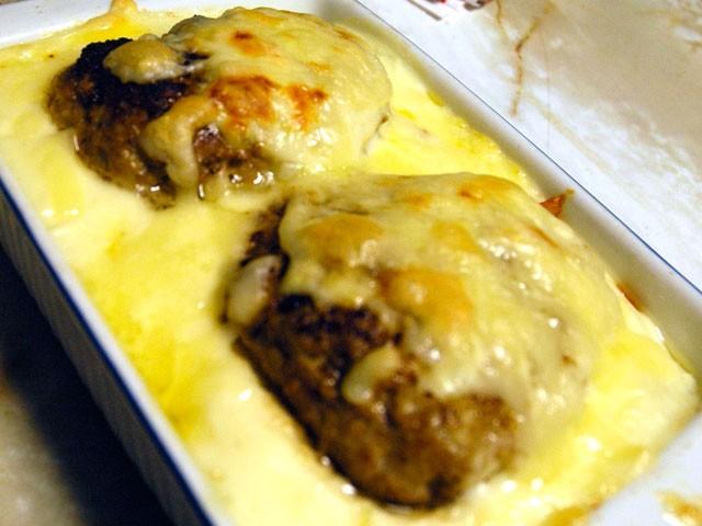 ハンバーグドリア:チキンライス