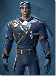Republic Officer - Male Close