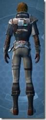 Gunslinger - Male Back