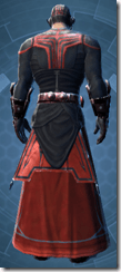 Sith Combatant - Male Back