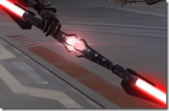 Devastators DoubleBladed Lightsaber