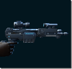 Elite War Hero Enforcer's Blaster Pistol