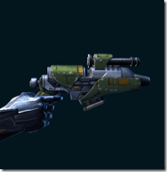 Elite War Hero Supercommando's Blaster Pistol
