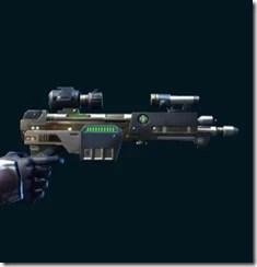 Exceptional Combat Medic's Blaster Pistol