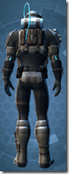Kell Dragon Trooper - Male Back