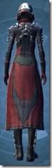 Kell Dragon Agent - Female Back
