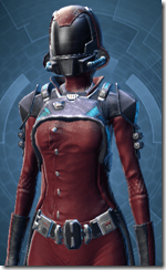 Kell Dragon Agent - Female Close