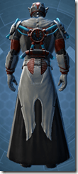 Kell Dragon Inquisitor - Male Back