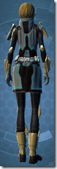 Kell Dragon Knight - Female Back