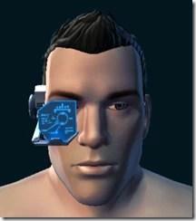 M Blue Efficiency Scanner Close