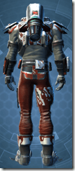 Haywire Hunter - Male Back