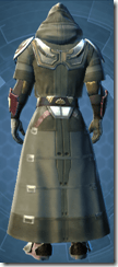 Peacekeeper Elite - Male Back
