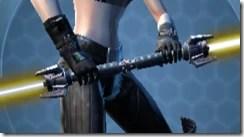 Elegant Modified Double-bladed Lightsaber