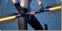 Zez-Kai Ell's Double-bladed Lightsaber