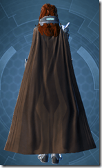 Elder Vindicator Pub - Female Back