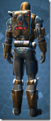 RD-15A Mercenary Imp - Male Back