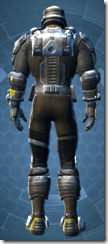 RD-15A Mercenary Pub - Male Back