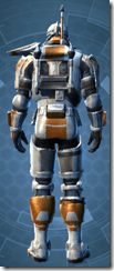 TH-17A Elite War Medic Pub - Male Back
